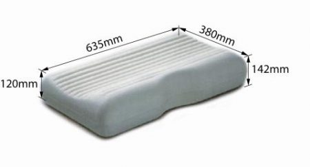Dentons Medi Rest PIllow Dimensions