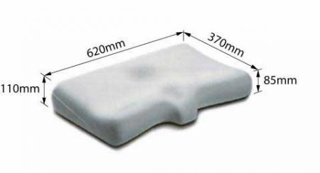 Dentons Posturelle Pillow Dimensions
