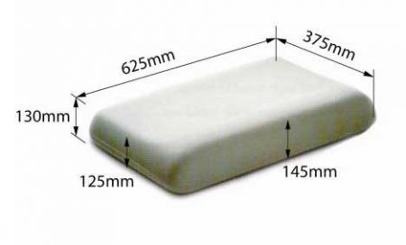 Dentons High Profile Pillow Dimensions