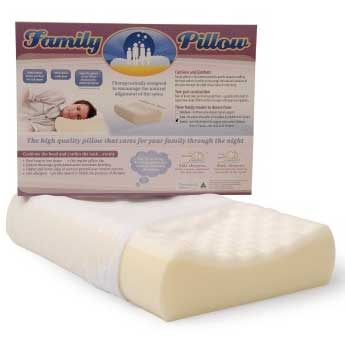 family pillow egg foam
